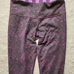 Lululemon workout capri pants size small